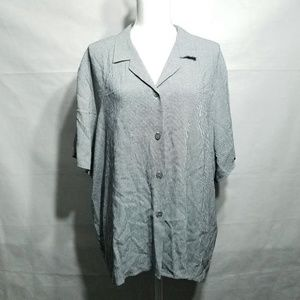 VINTAGE Briggs Button Blouse